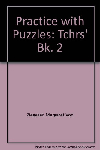 9780194335089: Practice with Puzzles: Tchrs' Bk. 2