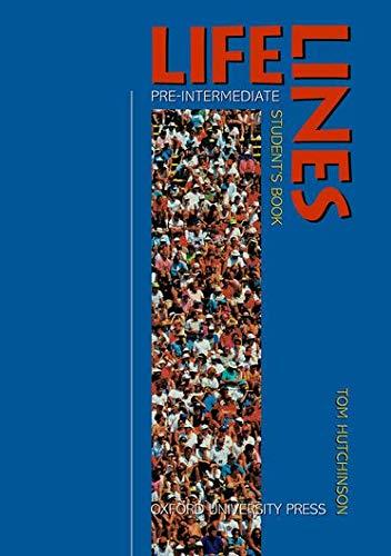 9780194338004: Lifelines Pre-Intermediate : Student's book