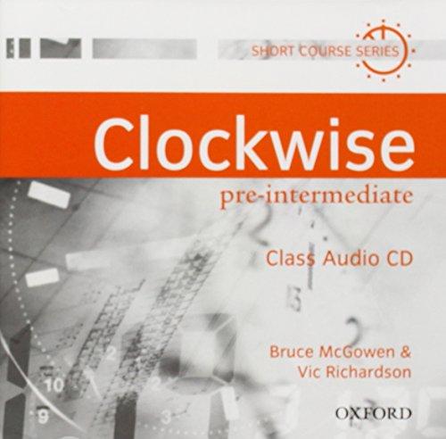 9780194338189: Clockwise: Pre-Intermediate: Class Audio CD