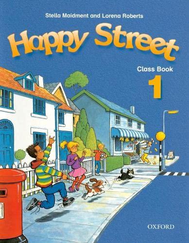 9780194338332: Happy Street: 1: Class Book: Classbook Level 1
