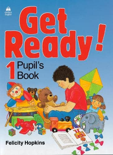 9780194339124: Get Ready!: 1: Pupil's Book