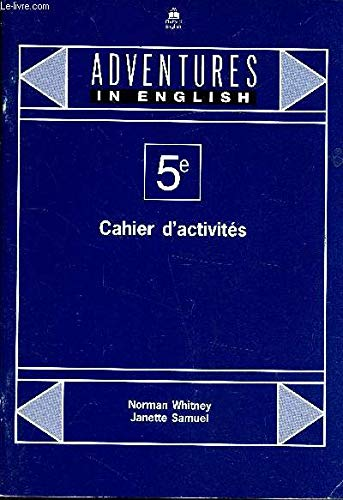 9780194339520: Adventures in English 5e : Cahier d'activit�s