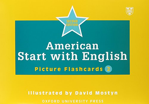 9780194340397: American Start with English: 2: Picture Flashcards (135): Picture Flashcards Pt. 2