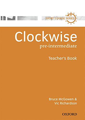 9780194340755: Clockwise Pre-Intermediate Teacher's Book