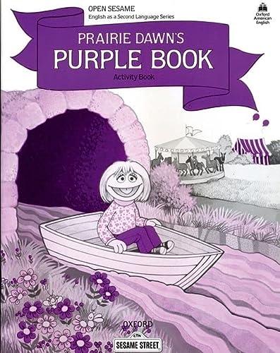 Open Sesame: Prairie Dawn's Purple Book: Activity: Brauer, Jane