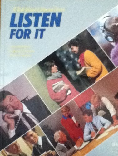 9780194342087: Listen for It: A Task-Based Listening Course (Student's Book)