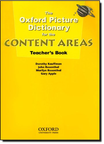 The Oxford Picture Dictionary for the Content: Dorothy Kauffman, John