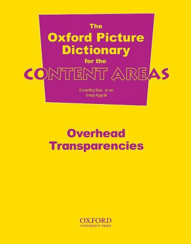 OXFORD PICTURE DICTIONARY FOR CONTENT AREAS TRANSPARENCIES: KAUFFMAN/APPLE