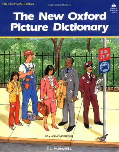 9780194343596: The New Oxford Picture Dictionary: English-Cambodian Edition (The New Oxford Picture Dictionary (1988 ed.))