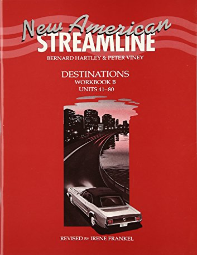 9780194348393: New American Streamline Destinations - Advanced: Destinations Workbook B (Units 41-80): B