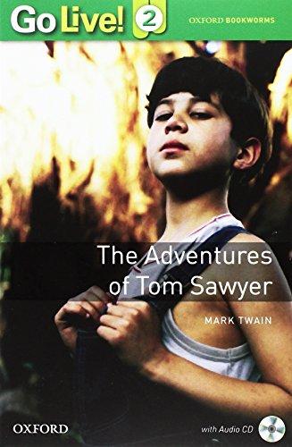 GO LIVE READER 2: TOM SAWYER BK + CDROM - AA.VV.