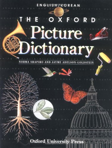 9780194351911: The Oxford Picture Dictionary: English-Korean Edition