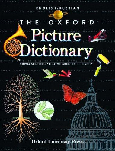 9780194351928: The Oxford Picture Dictionary: English-Russian Edition