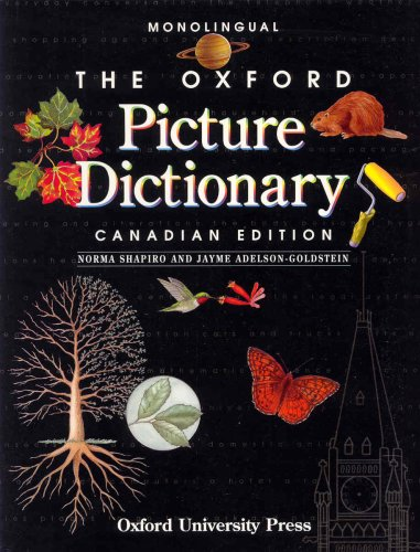 9780194352703: The Oxford Picture Dictionary: Monolingual