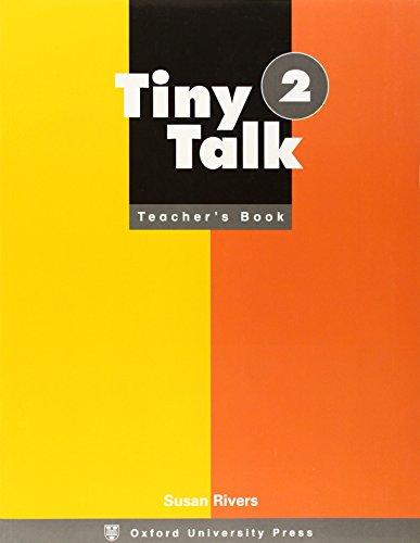9780194352802: Tiny Talk: 2: Teacher's Book: Teacher's Book Level 2