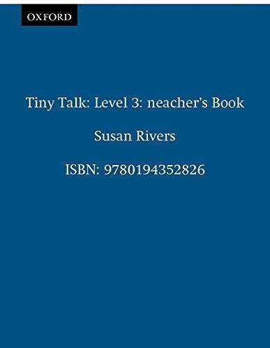 9780194352826: Tiny Talk 3: Teacher's Book: Teacher's Book Level 3