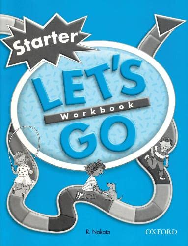 9780194352918: Let's Go Starter Level: Workbook (Let's Go Second Edition)
