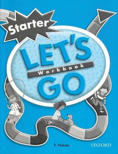 9780194352918: Let's Go Starter Level: Workbook (Let's Go Second Edition)