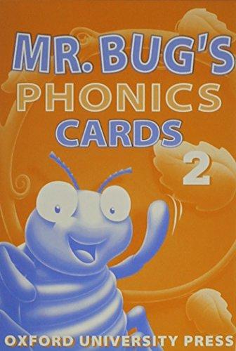 Mr Bug's Phonics 2: Phonics Cards (57) (Bk.2) (0194353575) by Richmond Hsieh; Catherine Yang Eisele