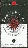 9780194355216: English File: Class Cassettes Level 1