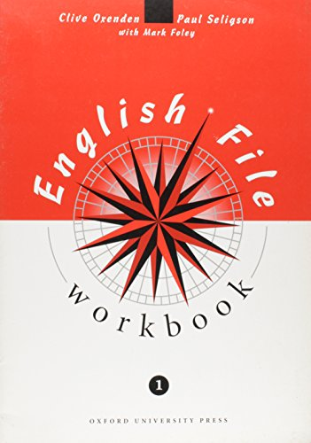 9780194355292: English File: Workbook with key Level 1