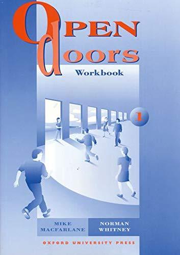 9780194356015: Open Doors: 1: Workbook