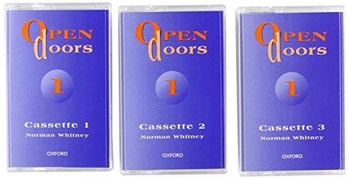 9780194356039: Open Doors 1: 1: Cassettes (3): Level 1
