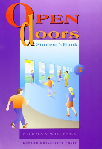 Open Doors: 3: Student's Book (9780194356084) by Norman Whitney