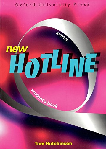 9780194357555: New Hotline Starter: Student's Book