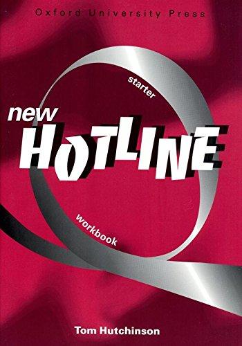 9780194357562: New Hotline Starter. Workbook: Workbook Starter level