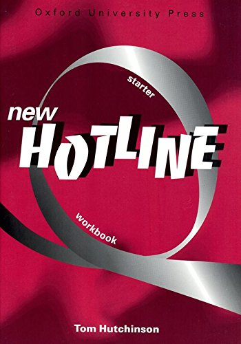 9780194357562: NEW HOTLINE. Starter workbook