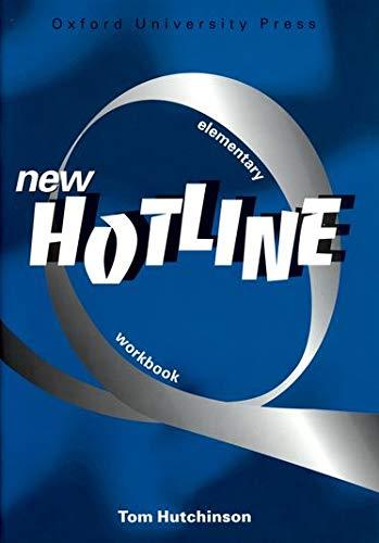 9780194357609: New Hotline Elementary Workbook