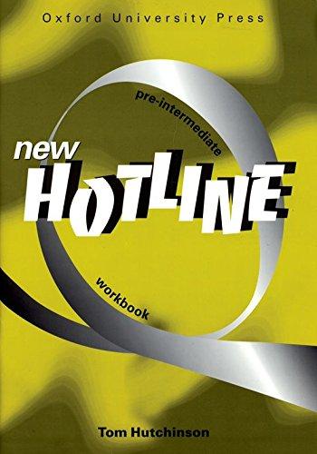 9780194357647: New Hotline Pre-Intermediate: Workbook