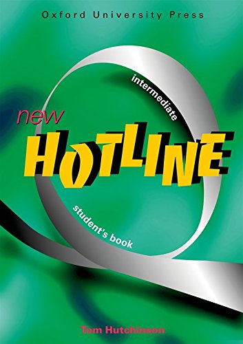 New Hotline Intermediate: Student's Book: Hutchinson, Tom