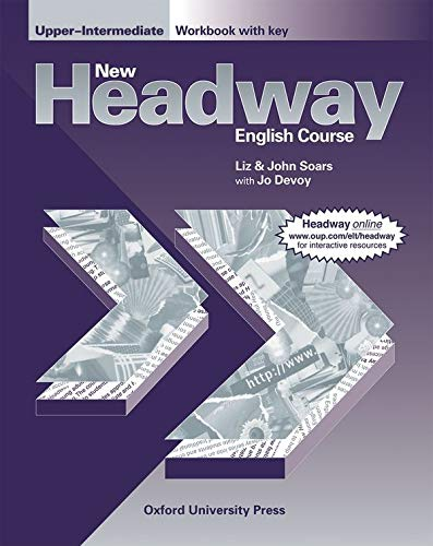 9780194358019: New Headway English Course - Upper Intermediate Workbook with key