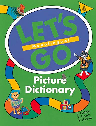 9780194358651: Let's Go Picture Dictionary: Monolingual English Edition
