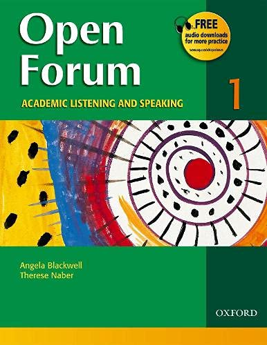 9780194361095: Open Forum: Academic Listening and Speaking (Student Book 1)