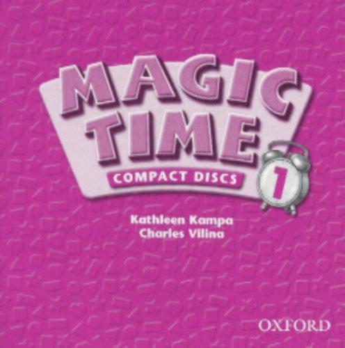 9780194361835: Magic Time 1: Audio CD