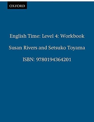 9780194364201: English Time 4: Workbook
