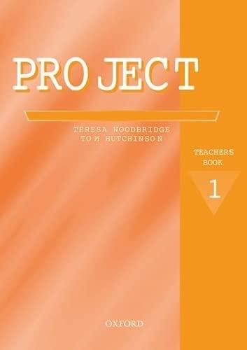 9780194365161: Project: Project 1 Second Edition: Teacher's Book Teacher's Book Level 1