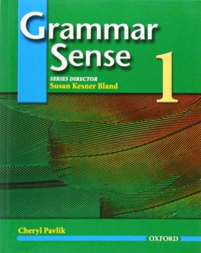 9780194365659: Grammar Sense 1: Student Book