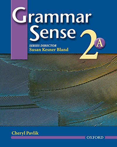 9780194365727: Grammar Sense 2: Student Book Volume A