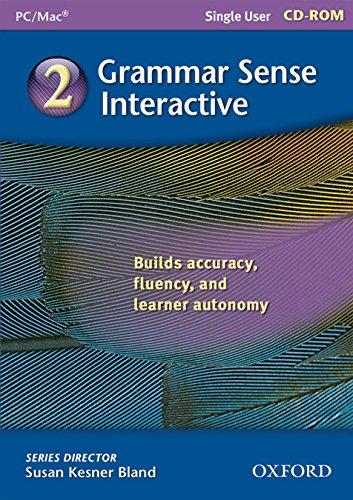 9780194365765: Grammar Sense 2 Interactive