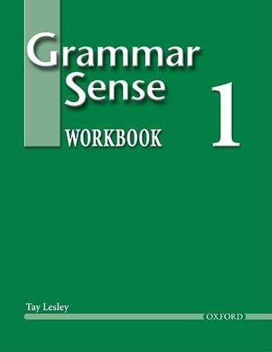 9780194366182: Grammar Sense 1: Workbook