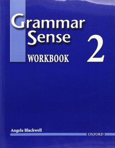 9780194366212: Grammar Sense 2 (Workbook)