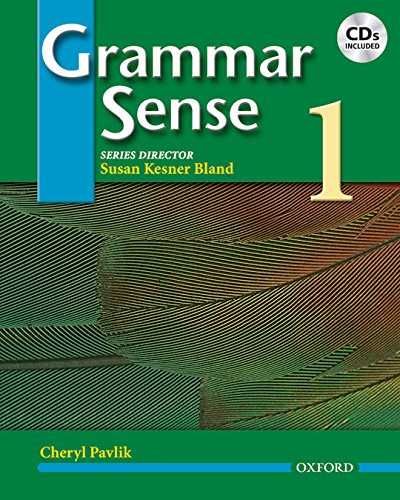 9780194366335: Grammar Sense 1: Student's Book and CD Pack: Student Book and Audio CD Pack Level 1