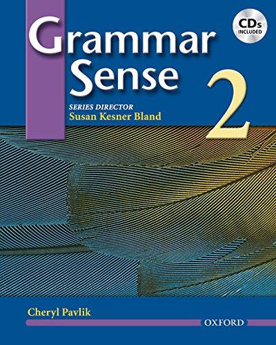 9780194366342: Grammar Sense 2: Student Book and Audio CD Pack