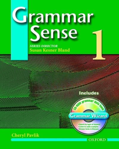 9780194366366: Grammar Sense 1 Student Book with Wizard CD-ROM