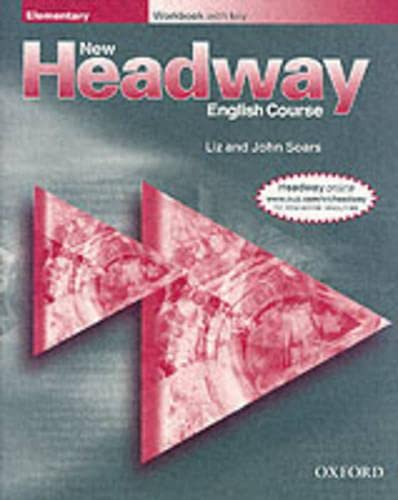 9780194366663: New Headway English Course Elementary: Workbook with Key