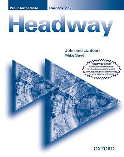 9780194366717: New Headway: Pre-Intermediateteacher's Book